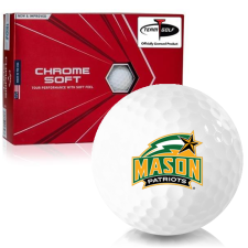 Callaway Golf Chrome Soft Triple Track George Mason Patriots Golf Balls