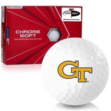 Callaway Golf Chrome Soft Triple Track Georgia Tech Golf Balls