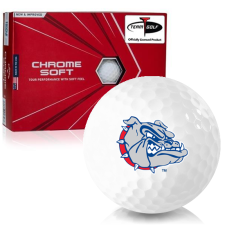 Callaway Golf Chrome Soft Triple Track Gonzaga Bulldogs Golf Balls