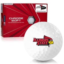 Callaway Golf Chrome Soft Triple Track Illinois State Redbirds Golf Balls
