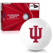 Callaway Golf Chrome Soft Triple Track Indiana Hoosiers Golf Balls