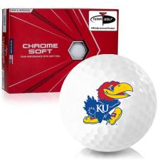 Callaway Golf Chrome Soft Triple Track Kansas Jayhawks Golf Balls