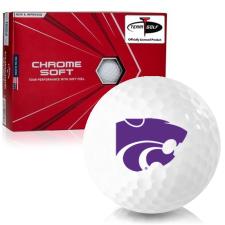 Callaway Golf Chrome Soft Triple Track Kansas State Wildcats Golf Balls