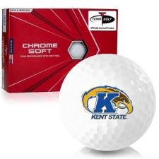 Callaway Golf Chrome Soft Triple Track Kent State Golden Flashes Golf Balls