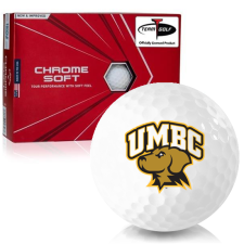 Callaway Golf Chrome Soft Triple Track Maryland Baltimore County Retrievers Golf Balls