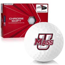 Callaway Golf Chrome Soft Triple Track UMass Minutemen Golf Balls