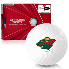 Callaway Golf Chrome Soft Triple Track Minnesota Wild Golf Balls