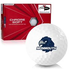 Callaway Golf Chrome Soft Triple Track Monmouth Hawks Golf Balls