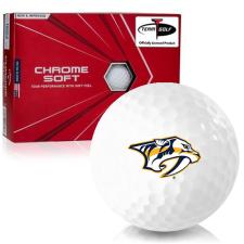 Callaway Golf Chrome Soft Triple Track Nashville Predators Golf Balls