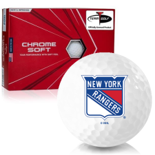 Callaway Golf Chrome Soft Triple Track New York Rangers Golf Balls
