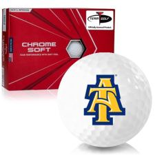 Callaway Golf Chrome Soft Triple Track North Carolina A&T Aggies Golf Balls