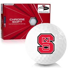 Callaway Golf Chrome Soft Triple Track North Carolina State Wolfpack Golf Balls