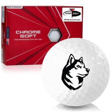 Callaway Golf Chrome Soft Triple Track Northeastern Huskies Golf Balls