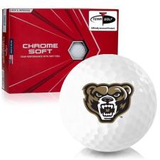 Callaway Golf Chrome Soft Triple Track Oakland Golden Grizzlies Golf Balls