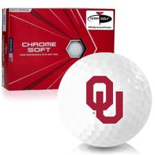 Callaway Golf Chrome Soft Triple Track Oklahoma Sooners Golf Balls