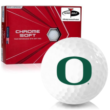 Callaway Golf Chrome Soft Triple Track Oregon Ducks Golf Balls
