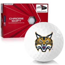 Callaway Golf Chrome Soft Triple Track Quinnipiac Bobcats Golf Balls