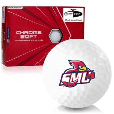 Callaway Golf Chrome Soft Triple Track Saint Mary's of Minnesota Cardinals Golf Balls