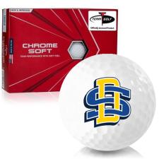 Callaway Golf Chrome Soft Triple Track South Dakota State Golf Balls