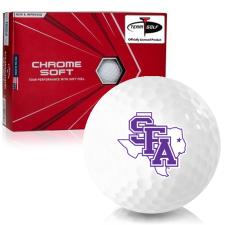 Callaway Golf Chrome Soft Triple Track Stephen F. Austin Lumberjacks Golf Balls