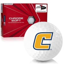 Callaway Golf Chrome Soft Triple Track Tennessee Chattanooga Mocs Golf Balls