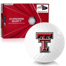 Callaway Golf Chrome Soft Triple Track Texas Tech Red Raiders Golf Balls