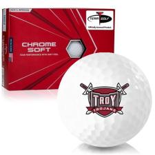 Callaway Golf Chrome Soft Triple Track Troy Trojans Golf Balls