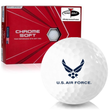 Callaway Golf Chrome Soft Triple Track US Air Force Golf Balls