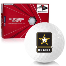 Callaway Golf Chrome Soft Triple Track US Army Golf Balls