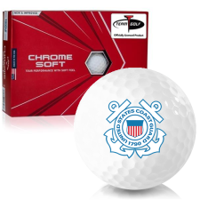 Callaway Golf Chrome Soft Triple Track US Coast Guard Golf Balls