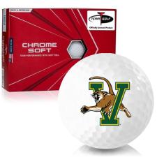 Callaway Golf Chrome Soft Triple Track Vermont Catamounts Golf Balls