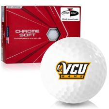 Callaway Golf Chrome Soft Triple Track Virginia Commonwealth Rams Golf Balls