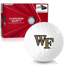 Callaway Golf Chrome Soft Triple Track Wake Forest Demon Deacons Golf Balls