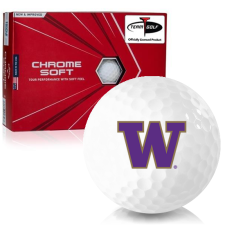 Callaway Golf Chrome Soft Triple Track Washington Huskies Golf Balls