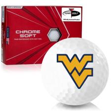 Callaway Golf Chrome Soft Triple Track West Virginia Mountaineers Golf Balls