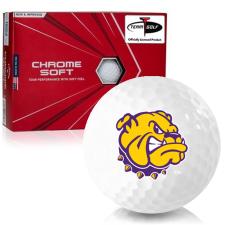 Callaway Golf Chrome Soft Triple Track Western Illinois Leathernecks Golf Balls