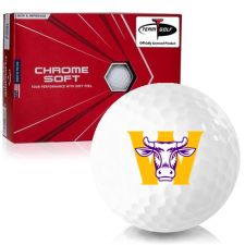 Callaway Golf Chrome Soft Triple Track Williams College Ephs Golf Balls