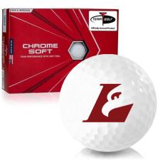 Callaway Golf Chrome Soft Triple Track Wisconsin La Crosse Eagles Golf Balls
