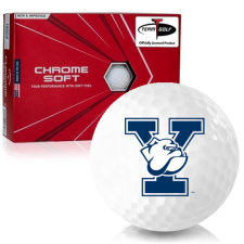Callaway Golf Chrome Soft Triple Track Yale Bulldogs Golf Balls