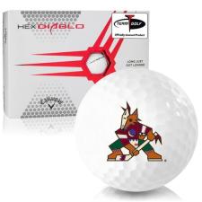 Callaway Golf HEX Diablo Arizona Coyotes Golf Balls