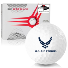 Callaway Golf HEX Diablo US Air Force Golf Balls