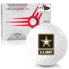Callaway Golf HEX Diablo US Army Golf Balls
