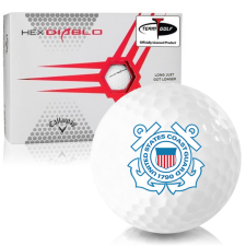 Callaway Golf HEX Diablo US Coast Guard Golf Balls