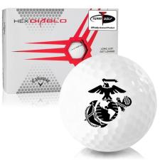 Callaway Golf HEX Diablo US Marine Corps Golf Balls