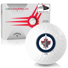 Callaway Golf HEX Diablo Winnipeg Jets Golf Balls
