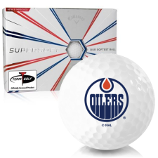 Callaway Golf Supersoft Edmonton Oilers Golf Balls