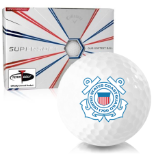 Callaway Golf Supersoft US Coast Guard Golf Balls