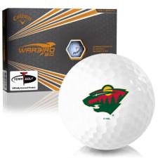 Callaway Golf Warbird 2.0 Minnesota Wild Golf Balls
