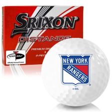 Srixon Distance New York Rangers Golf Balls