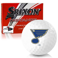 Srixon Distance St. Louis Blues Golf Balls